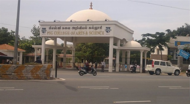 PSG COLLEGE OF ARTS AND SCIENCE